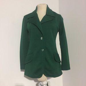 Vintage Green Blazer